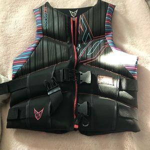 Woman's life vest